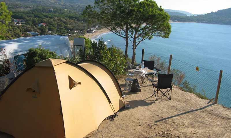 Elba Island Camping Laconella