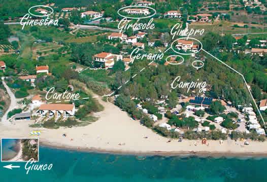 Isola Elba Campeggio Tallinucci